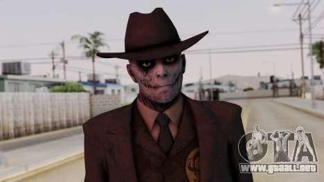 SkullFace Hat para GTA San Andreas