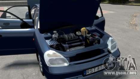 Daewoo Nubira II Sedan S PL 2000 para GTA motor 4