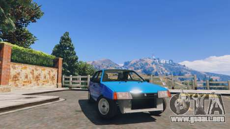 GTA 5 Ваз 21093i (Ajustables) v1.1 [FINAL] vista lateral derecha