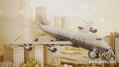 Boeing 747-100 Pan Am Clipper Juan T. Trippe para GTA San Andreas