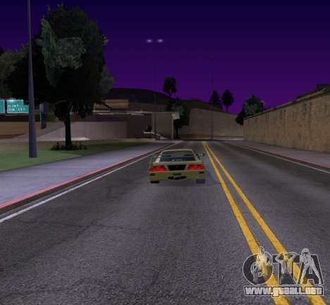 Need for Speed Cam Shake para GTA San Andreas