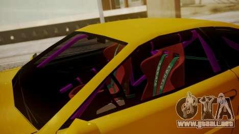 Alpha Drift para GTA San Andreas vista hacia atrás