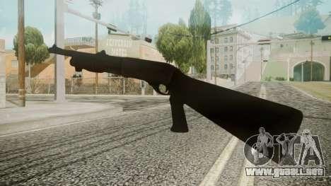 MCS 870 Battlefield 3 para GTA San Andreas tercera pantalla