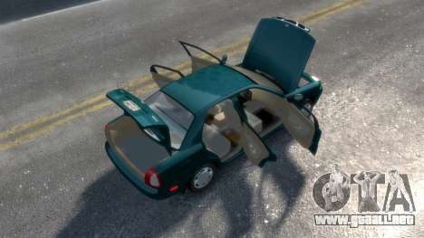 Daewoo Nubira I Sedan SX USA 1999 para GTA 4 vista lateral
