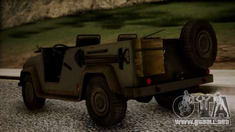 UAZ MGS5 TPP para GTA San Andreas left