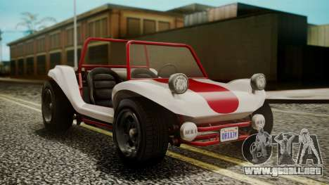 GTA 5 BF Bifta IVF para GTA San Andreas