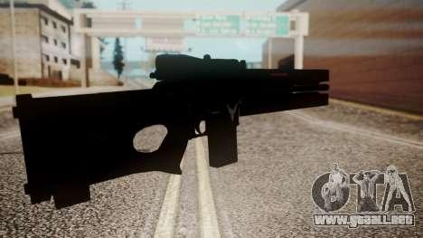 VXA-RG105 Railgun Shark para GTA San Andreas tercera pantalla