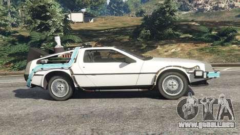 DeLorean DMC-12 Back To The Future v0.5 para GTA 5