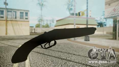 Sawnoff Shotgun (Iron Version) para GTA San Andreas tercera pantalla
