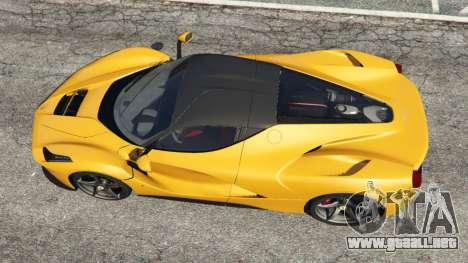 GTA 5 Ferrari LaFerrari 2013 v3.0 vista trasera