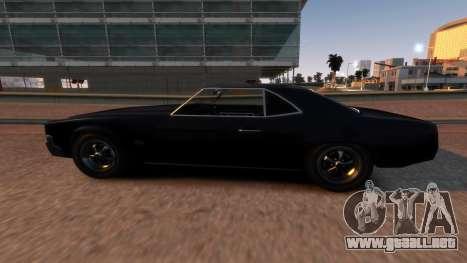 Sabre Vigero Muscle Car para GTA 4 left