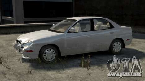 Daewoo Nubira II Sedan SX USA 2000 para GTA 4 interior