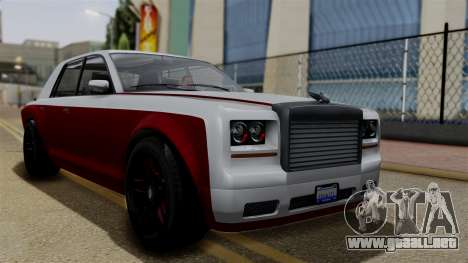 Morningstar Justice (Super Diamond) from SR3 para GTA San Andreas