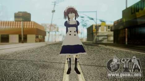 Mey-Rin [Kuroshitsuji] para GTA San Andreas segunda pantalla