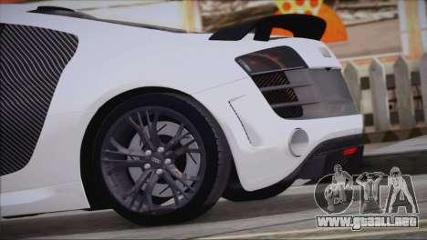 Audi R8 GT 2012 Sport Tuning V 1.0 para GTA San Andreas left