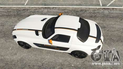 Mercedes-Benz SLS AMG Coupe para GTA 5