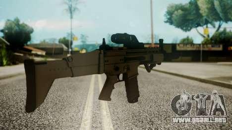 SCAR-L Custom para GTA San Andreas segunda pantalla