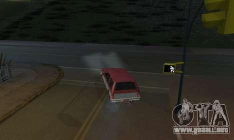 Realistic Lights para GTA San Andreas tercera pantalla