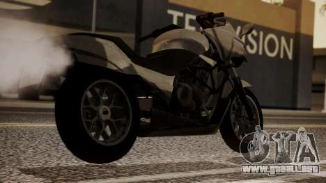 GTA 5 Dinka Thrust para GTA San Andreas left