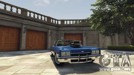 GTA 5 Chevrolet Impala 1972 vista lateral derecha