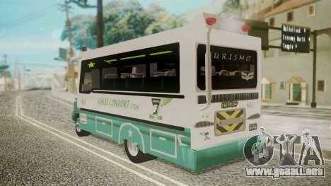 Chevrolet B70 Bus Colombia para GTA San Andreas left
