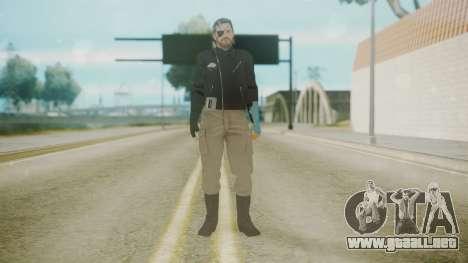 Venom Snake [Jacket] Hand of Jehuty Arm para GTA San Andreas segunda pantalla