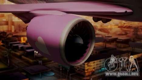 Boeing 787-9 LoveLive Livery para la visión correcta GTA San Andreas