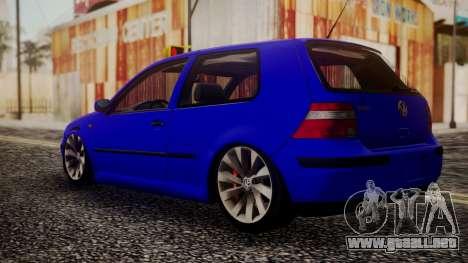 Volkswagen Golf 4 para GTA San Andreas left