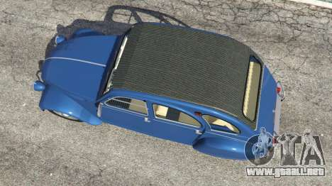GTA 5 Citroen 2CV v1.1 vista trasera