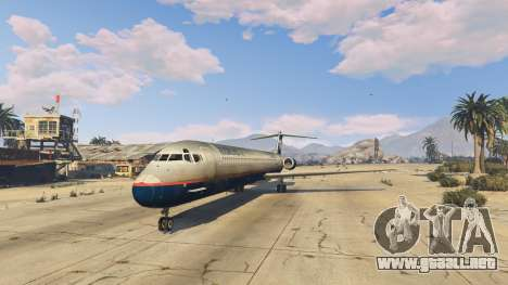 GTA 5 McDonnell Douglas MD-80 cuarto captura de pantalla