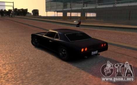 Sabre Vigero Muscle Car para GTA 4 Vista posterior izquierda
