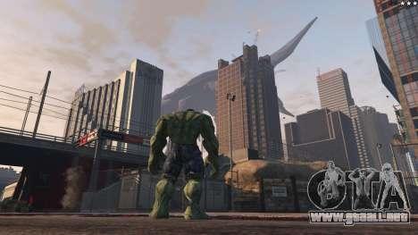 GTA 5 The Hulk séptima captura de pantalla