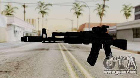 AK-103 with Rifle Dot Aimpoint M2 para GTA San Andreas