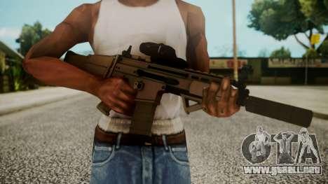 SCAR-L Custom para GTA San Andreas tercera pantalla