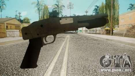 Sawnoff Shotgun by EmiKiller para GTA San Andreas segunda pantalla