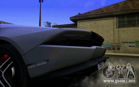 Lamborghini Huracan LP610 VELLANO para la visión correcta GTA San Andreas