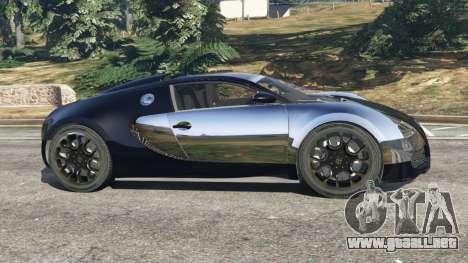 GTA 5 Bugatti Veyron Grand Sport v5.0 vista lateral izquierda