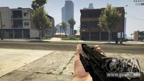 GTA 5 MW3 MP5 sexta captura de pantalla