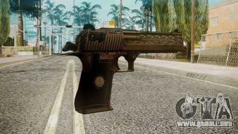 Desert Eagle by EmiKiller para GTA San Andreas segunda pantalla