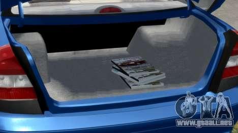 Daewoo Nubira II Sedan S PL 2000 para GTA 4 vista superior