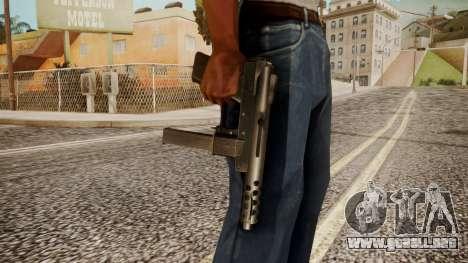 Tec 9 by catfromnesbox para GTA San Andreas tercera pantalla