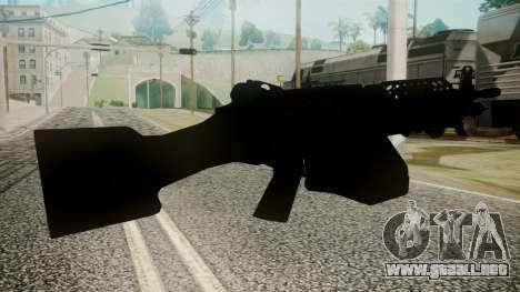M249 Battlefield 3 para GTA San Andreas tercera pantalla