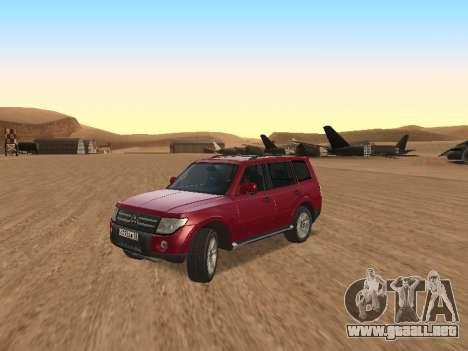 Mitsubishi Pajero para GTA San Andreas left