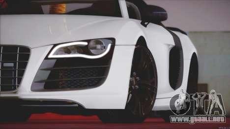 Audi R8 GT 2012 Sport Tuning V 1.0 para vista lateral GTA San Andreas