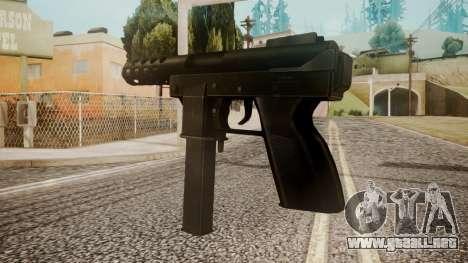 Tec 9 by catfromnesbox para GTA San Andreas segunda pantalla