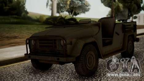 UAZ MGS5 TPP para GTA San Andreas