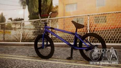 Nueva BMX para GTA San Andreas left