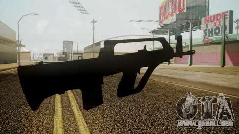 KH-2002 Battlefield 3 para GTA San Andreas tercera pantalla