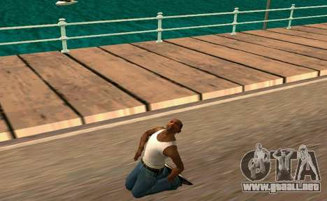 50 Animations v1.0 para GTA San Andreas segunda pantalla