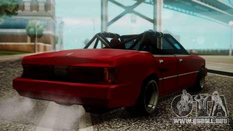 Sentinel Drift para GTA San Andreas left